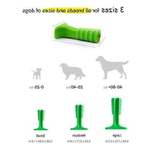 Dog Stick Cleaning Toy Silicone Brushing Dental Care US