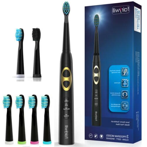 electric toothbrush 3 modes clean massage sensitive