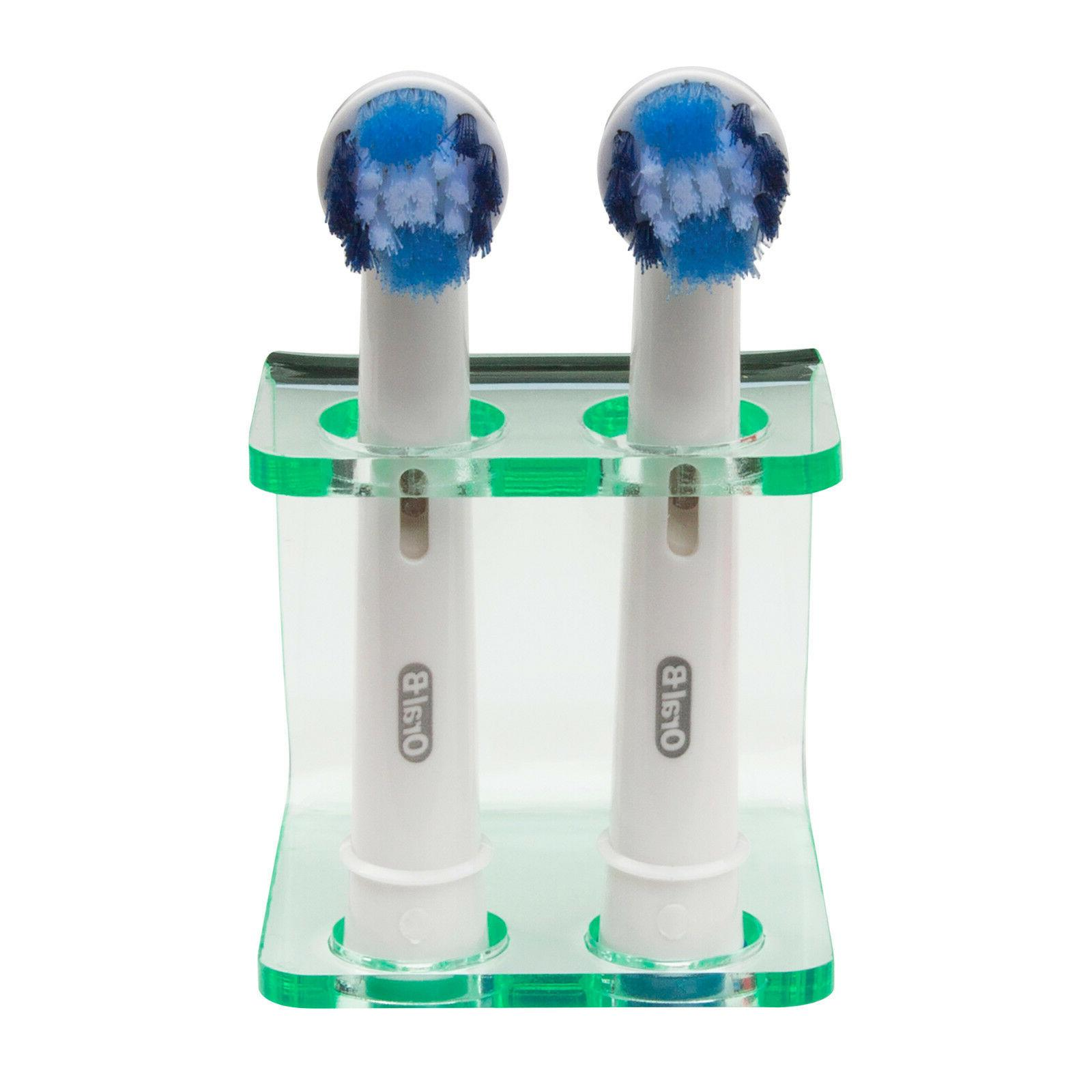 Electric Holder by Seemii, Green Effect, Oral B Heads