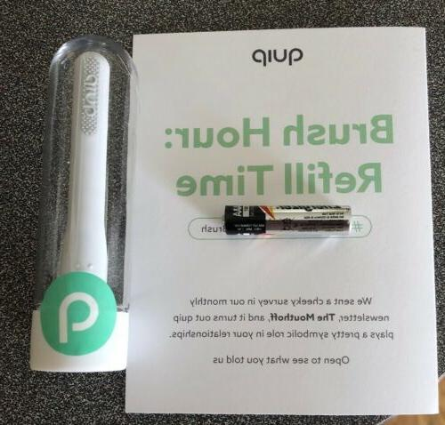 electric toothbrush replacement head refill and battery