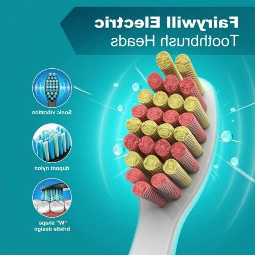 Fairywill Toothbrush Heads for Model