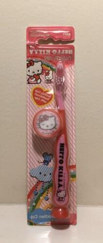 Firefly Hello Kitty Toothbrush Travel Kit With Cover & Sucti