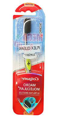 Colgate Flex Clean Slim Soft Macro Molecular Ultra Thin Char