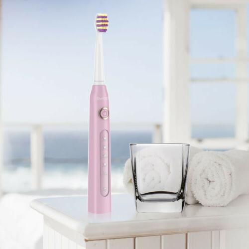 Fairywill Toothbrush Pink 5 Modes