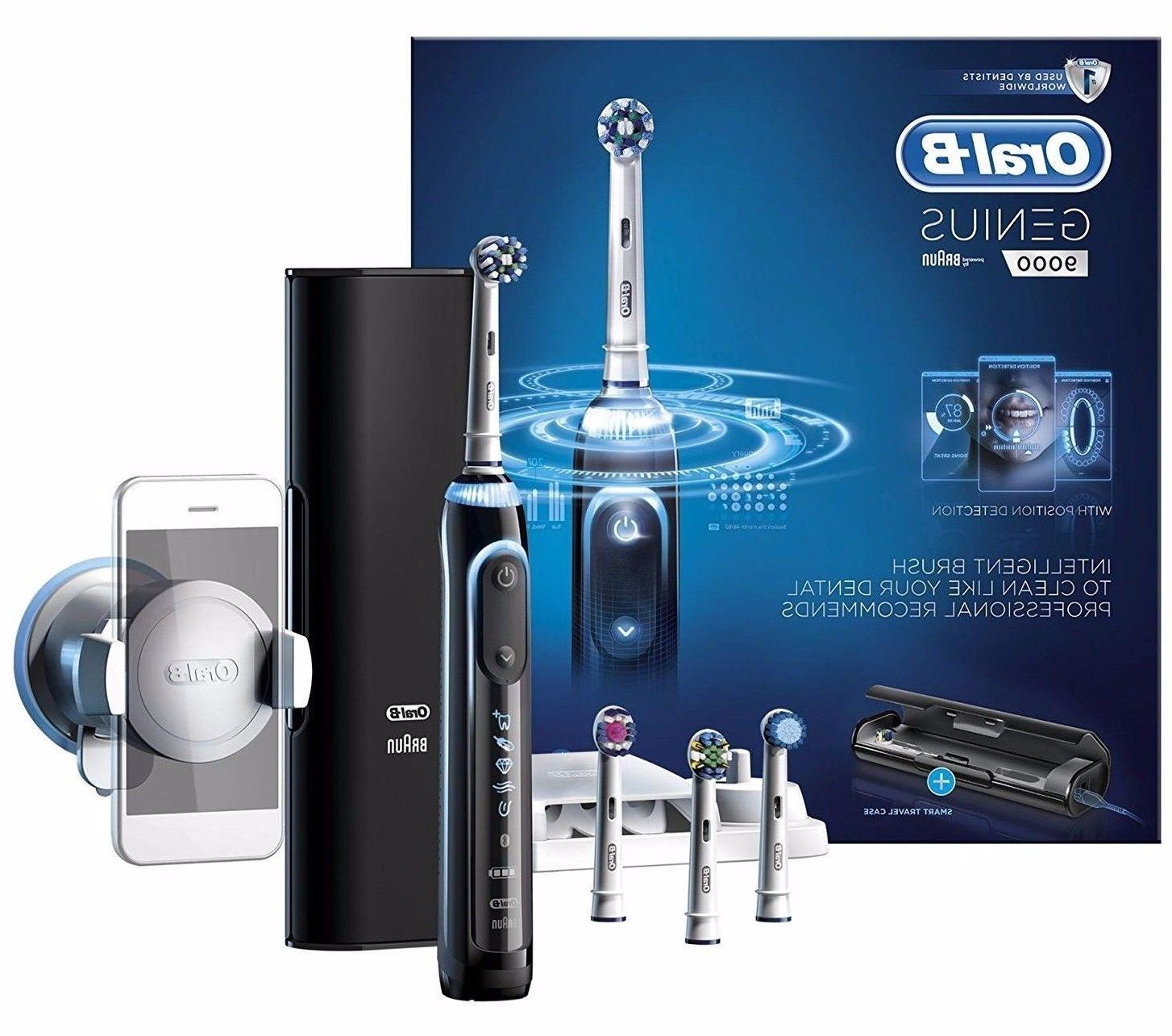 Oral-B Genius 9000 Electric Rechargeable Toothbrush - Black