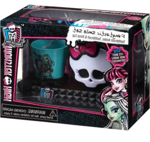 Monster Smile Toothbrush Holder Rinse Cup
