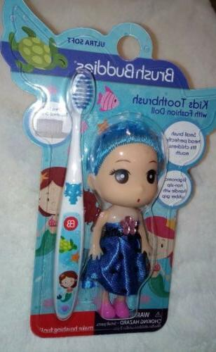 Brush Buddies Girls Mermaid with Doll-Great Easter