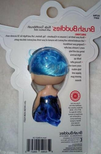 Brush Girls Mermaid Toothbrush Doll-Great Idea