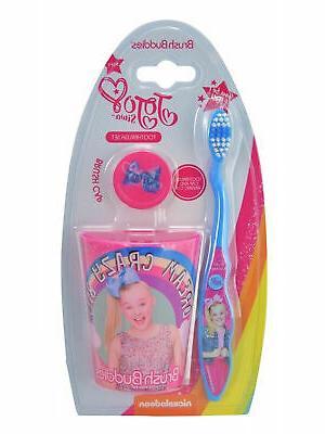 JoJo Siwa Girls Toothbrush Cap Set