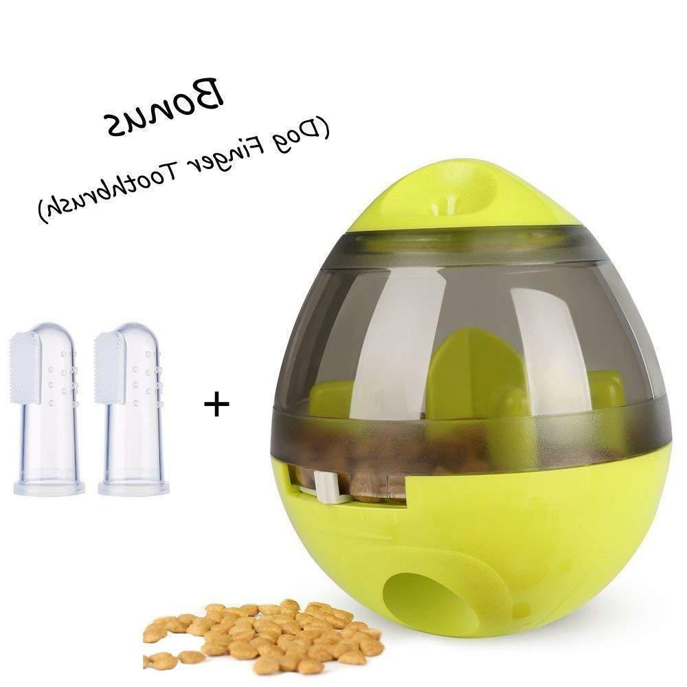 Interactive Dog Toy Food Dispenser-Dogs IQ Treat Ball Feeder