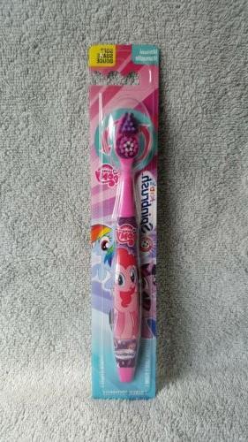 Spinbrush Kids Little Pony Toothbrush-Soft Bristles-Pink