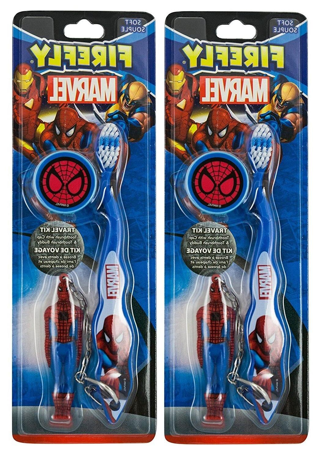 Firefly Light-up Timer Toothbrush - Spiderman