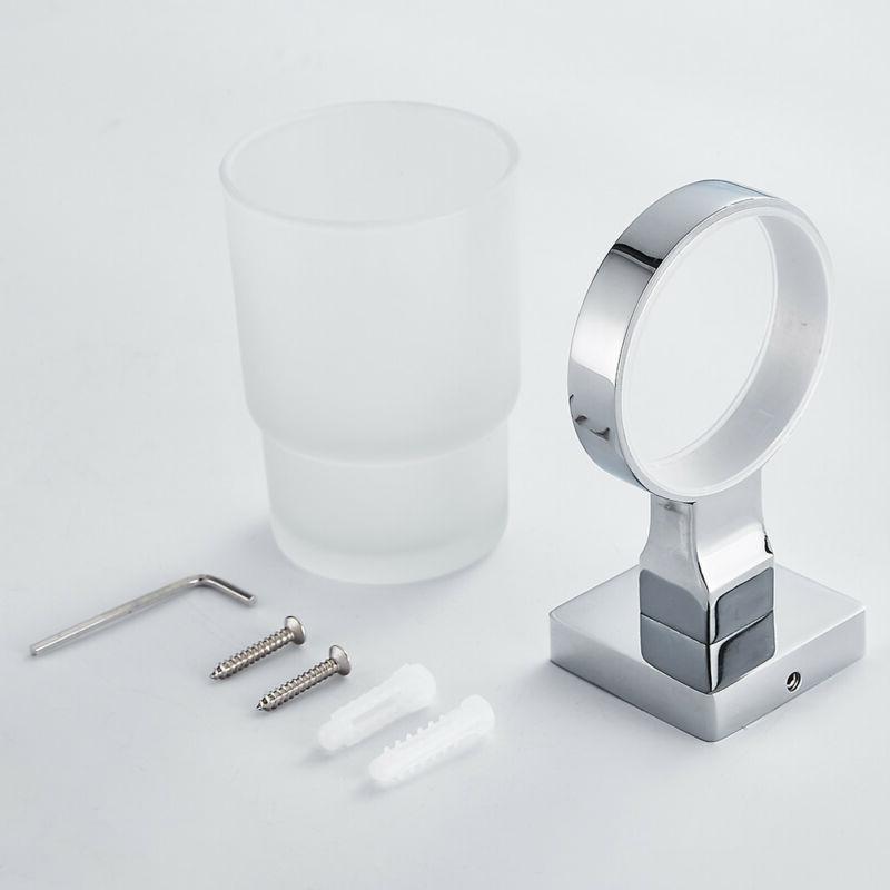Mordern Bathroom Drinking Glass Tumbler Toothbrush