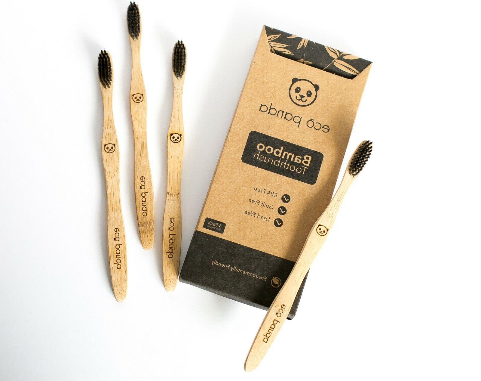 Natural Bamboo Pack Organic Wooden