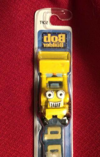 NEW BOB THE BUILDER SCOOP KIDS SOFT MANUAL TOOTHBRUSH ZOOTHB