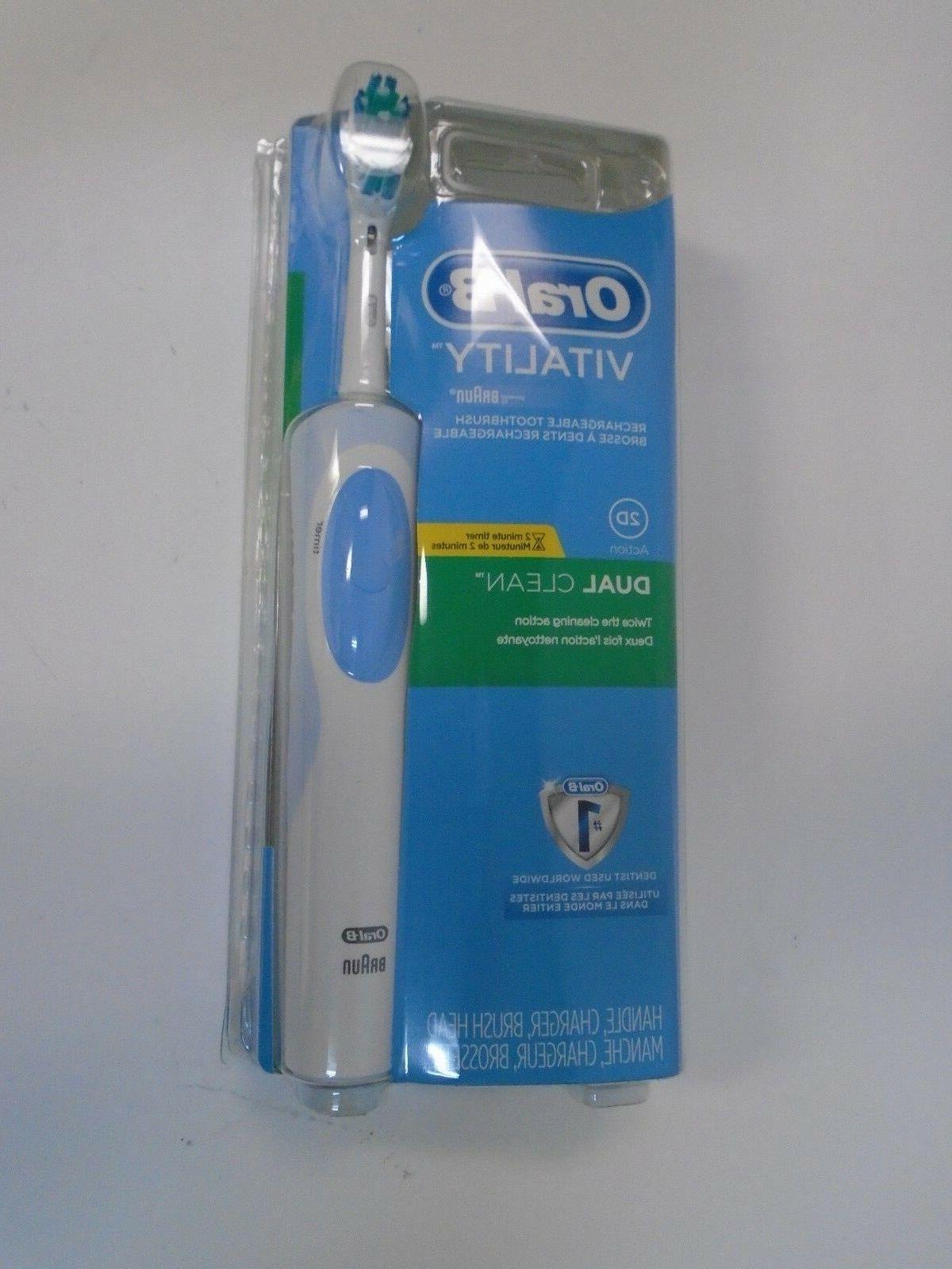 new braun oral b vitality 2d dual