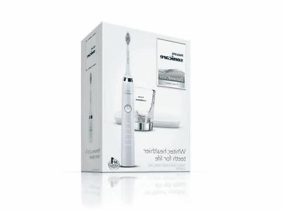 new diamond clean classic electric toothbrush white