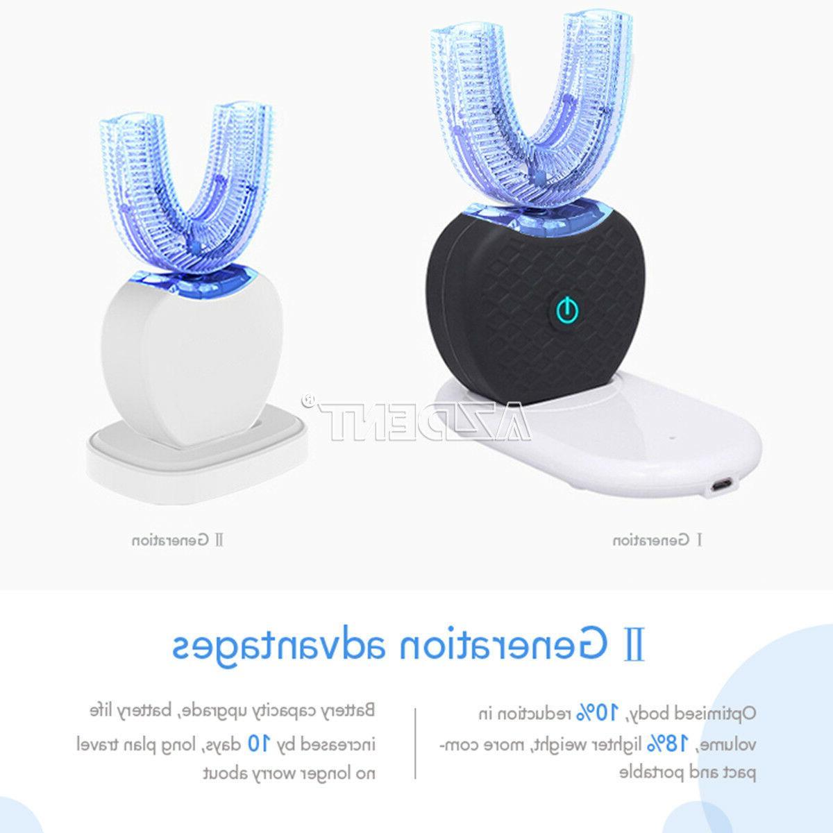 Wireless 360°Electric Sonic Toothbrush Whitening Upgrade Ⅱ