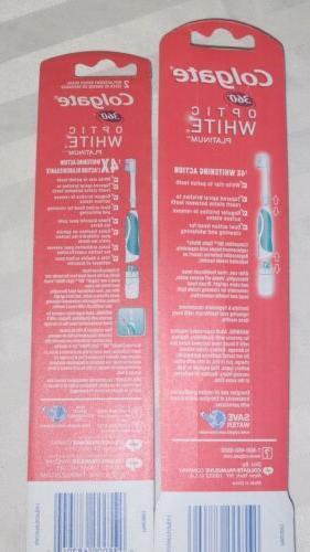 COLGATE Platinum 360 Toothbrush & Refill Heads