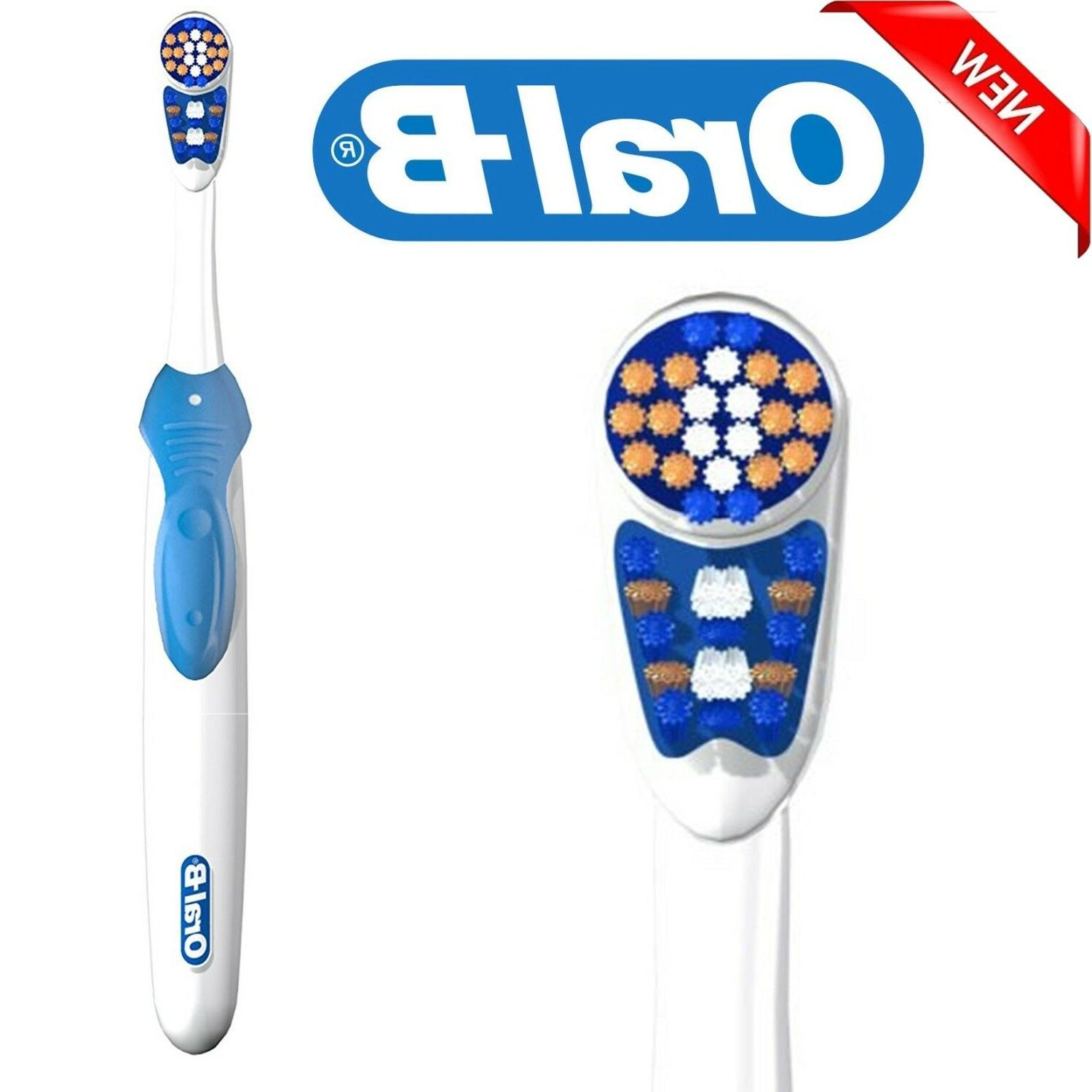 Oral-B 3D Electric Toothbrush Battery-Powered Clean Teeth