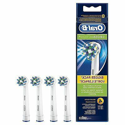 Oral-B CrossAction Electric Toothbrush Replacement Heads Pow