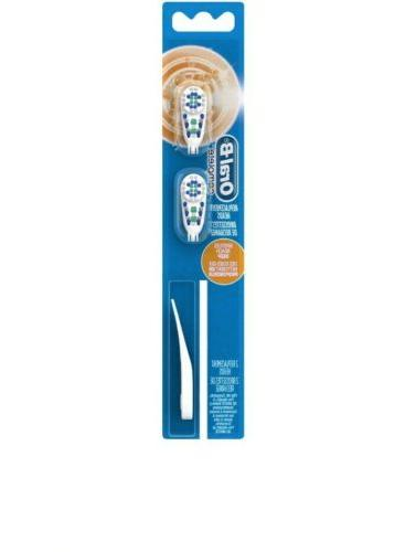 ORAL-B CrossAction Replacement head fits Oral battery