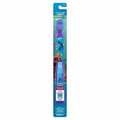 oral b kids frozen characters toothbrush