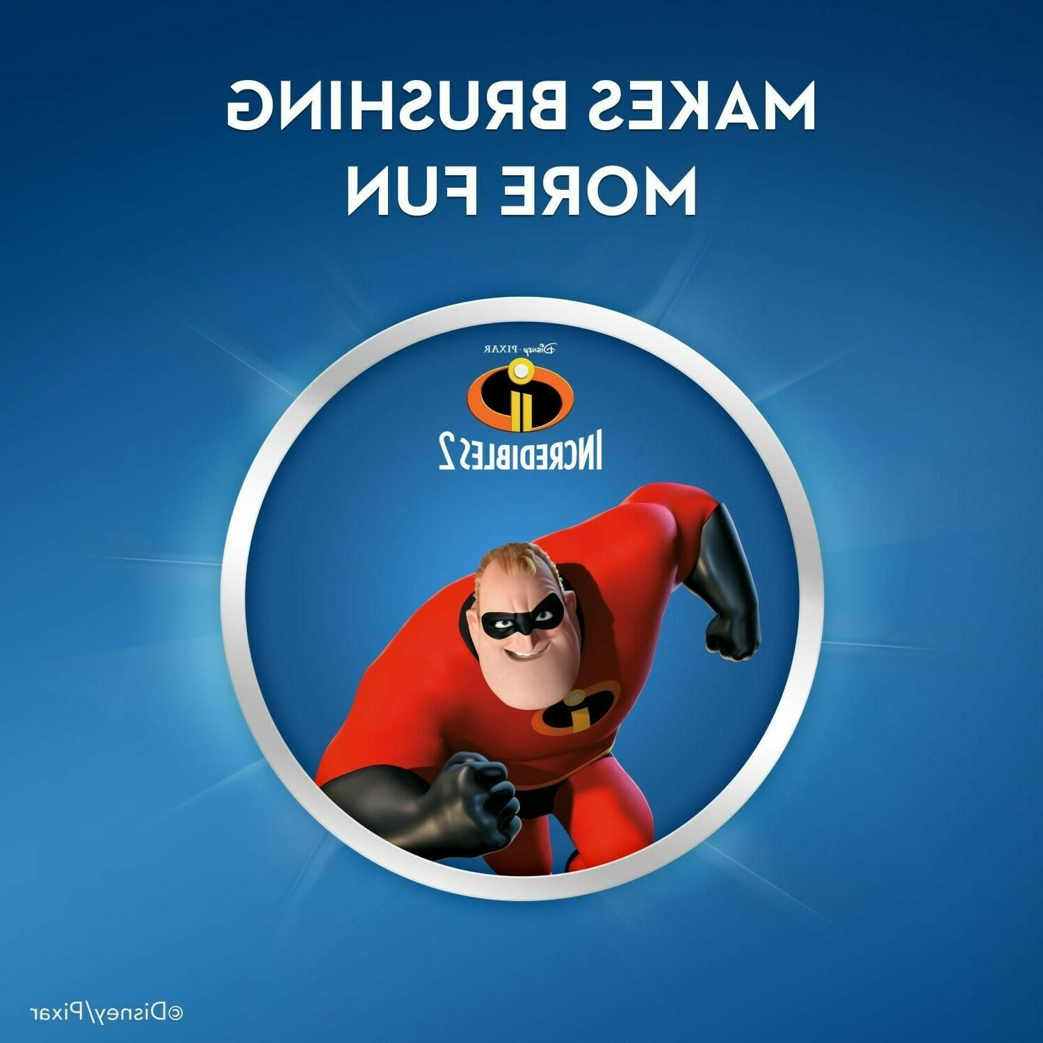 Oral-B Electric Toothbrush Incredibles 2 a Great for