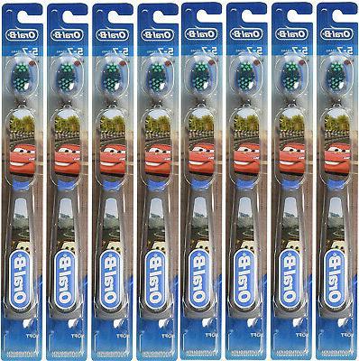 Oral-B Kids Toothbrush, Pro-Health Stages Disney Pixar Cars,