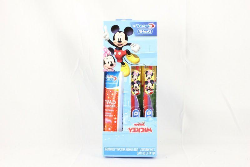 oral b mickey minnie mouse red purple