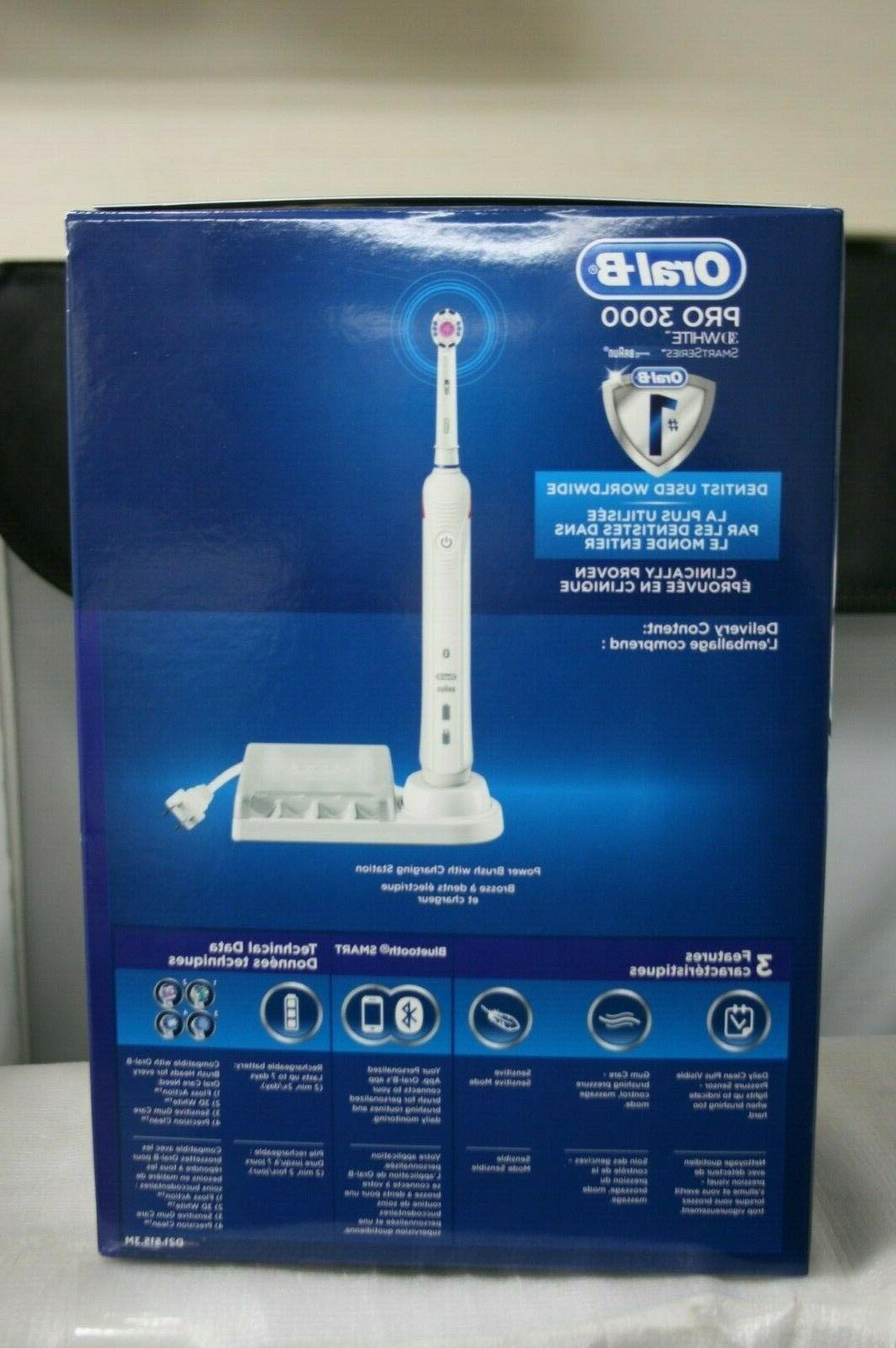 Oral-B Pro 3000 3D Action Rechargeable Toothbrush In