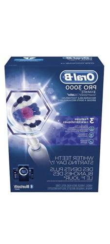 Oral-B Pro 3000 SmartSeries Rechargeable Toothbrush w/Blueto