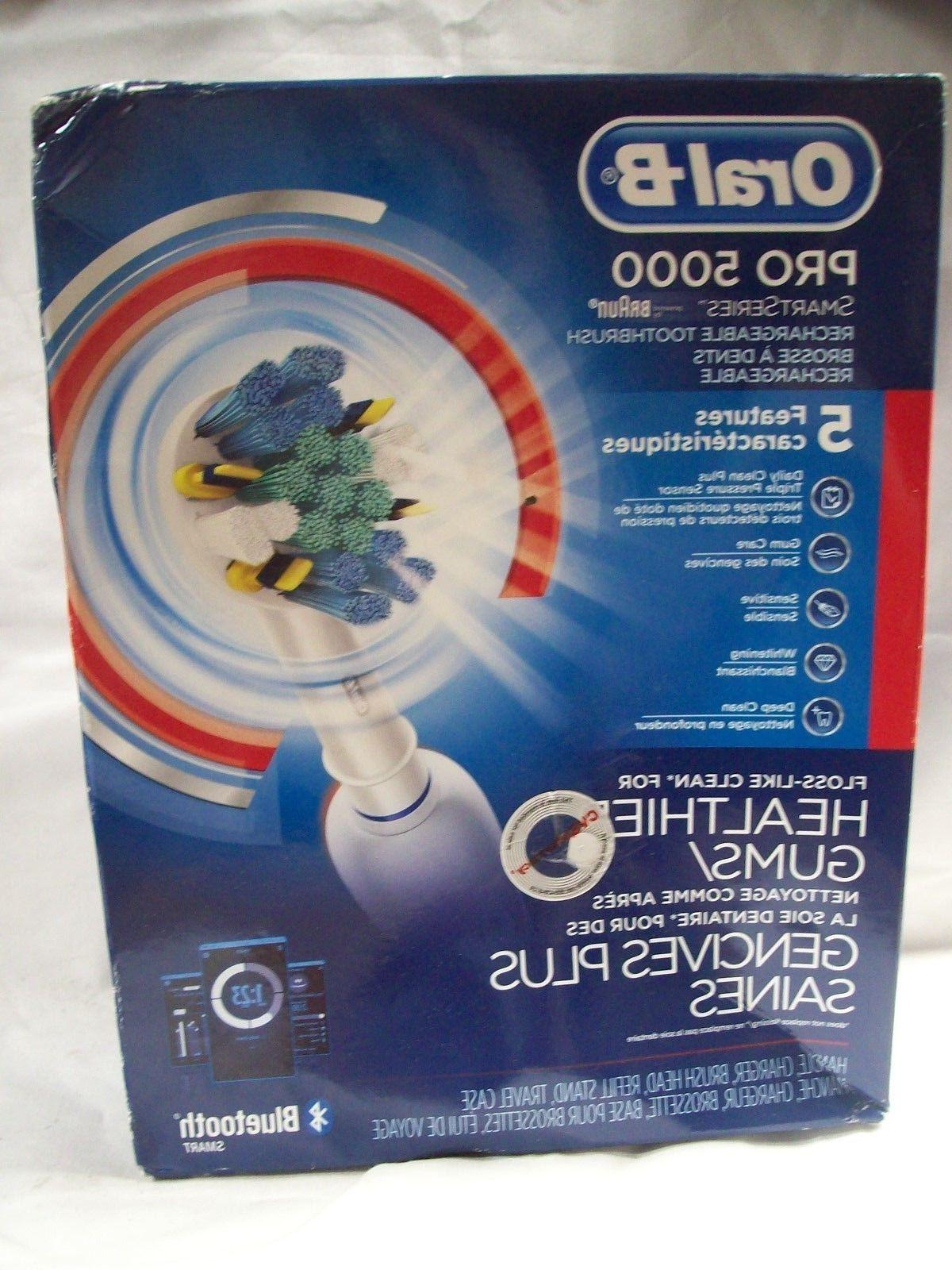 Oral-B Pro 5000 SmartSeries Rechargeable Electric Bluetooth