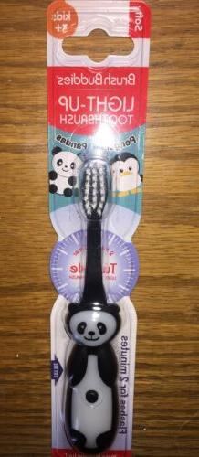 Brush Buddies Panda Bear Light Up Child Toddler Toothbrush.