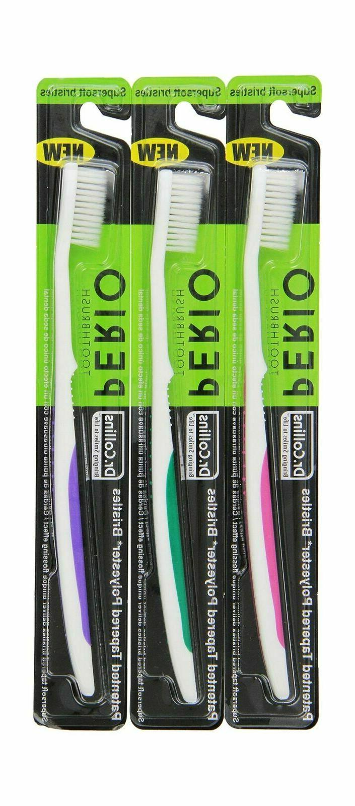 Dr. Collins Perio Toothbrush,