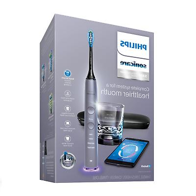 Philips Sonicare DiamondClean Smart 9300 Gray Electric Tooth