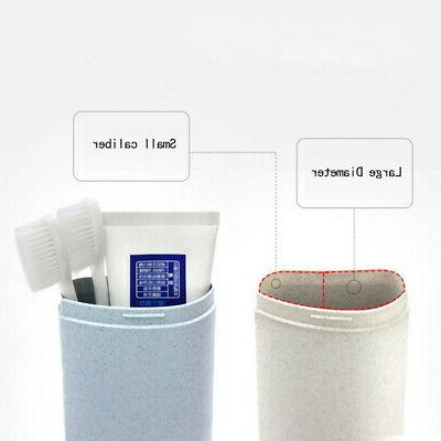 Portable Travel Toothpaste Toothbrush Holder Cover Box
