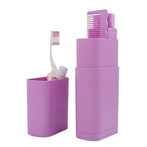 protable mini compact plastic toiletry
