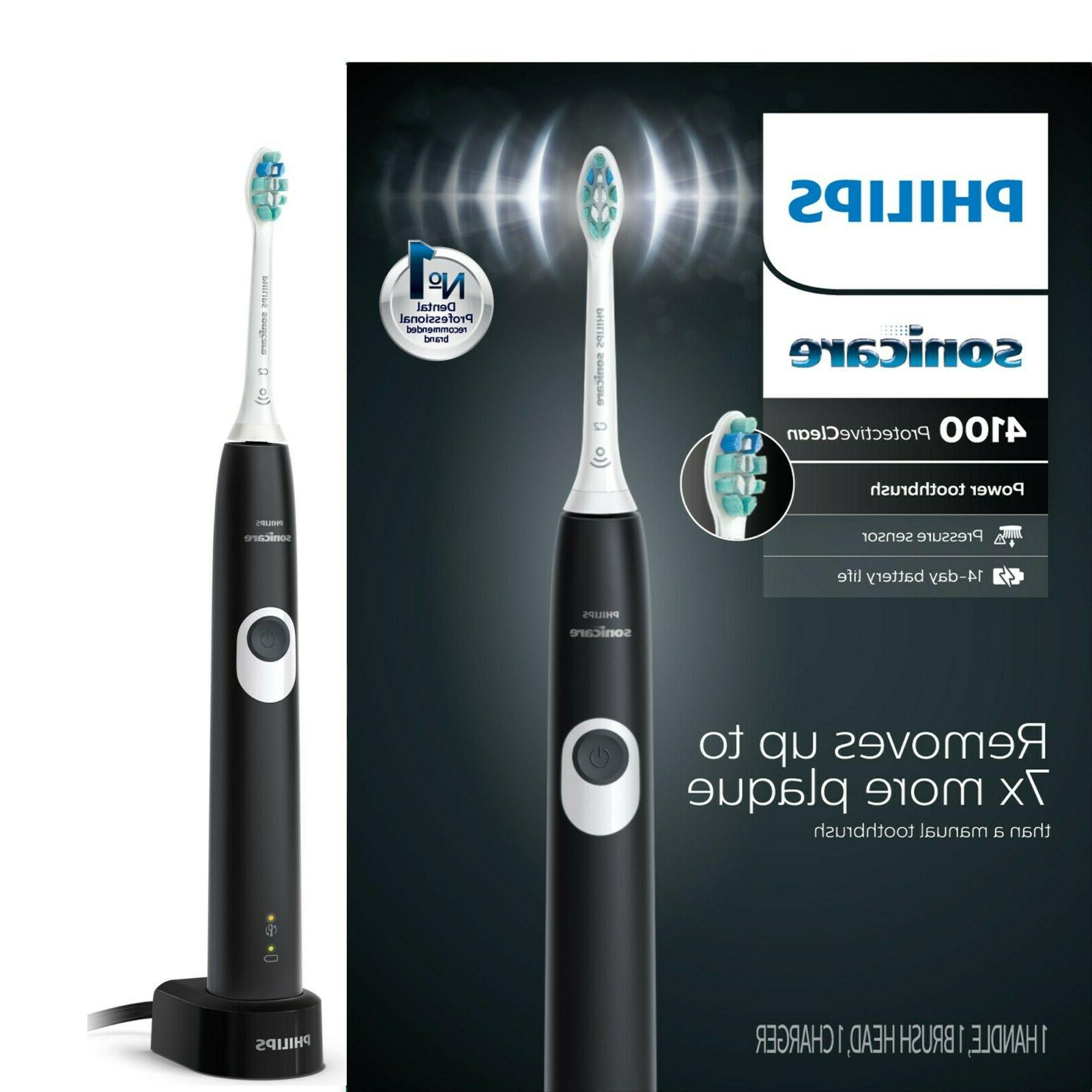 protectiveclean 4100 black electric toothbrush new