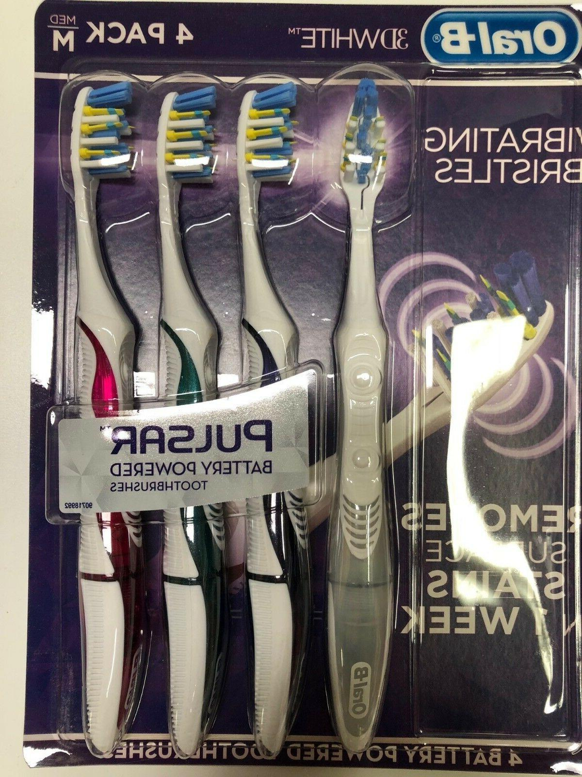 pulsar battery powered toothbrushes