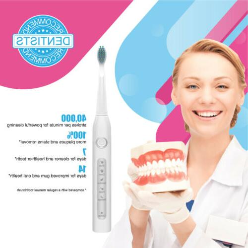 Rechargeable Powered Fairywill Toothbrush 5 Modes