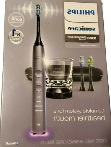 rechargeable smart bluetooth toothbrush 9300 grey hx9903