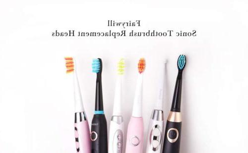 Fairywill Replacement x 12 Sonic Toothbrush