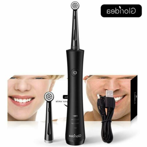 rotary electric toothbrush for adults rechargeable toothbrus