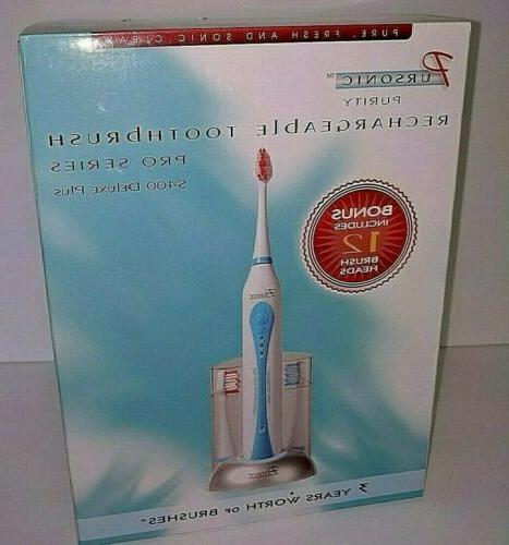 s400 deluxe plus sonic electric toothbrush