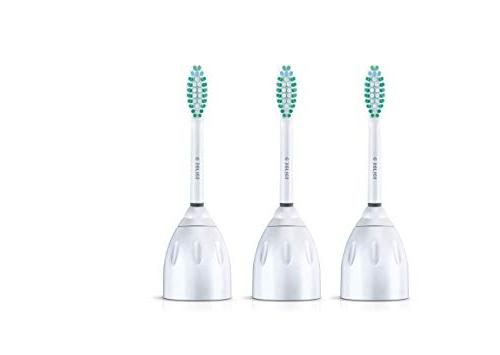 Genuine Philips E-Series replacement toothbrush 3-pk