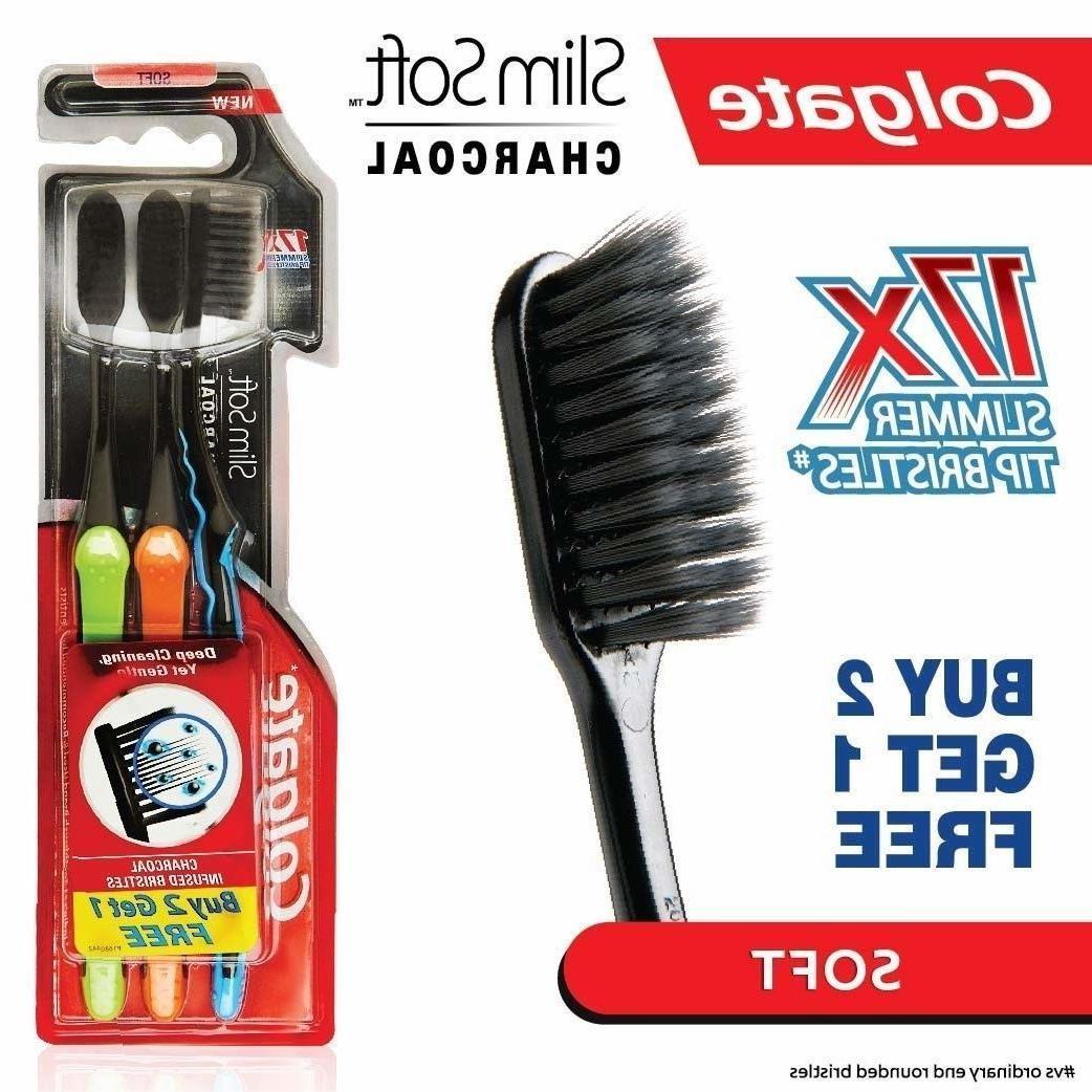 Colgate Slim Soft Toothbrush 17x Tip Bristles