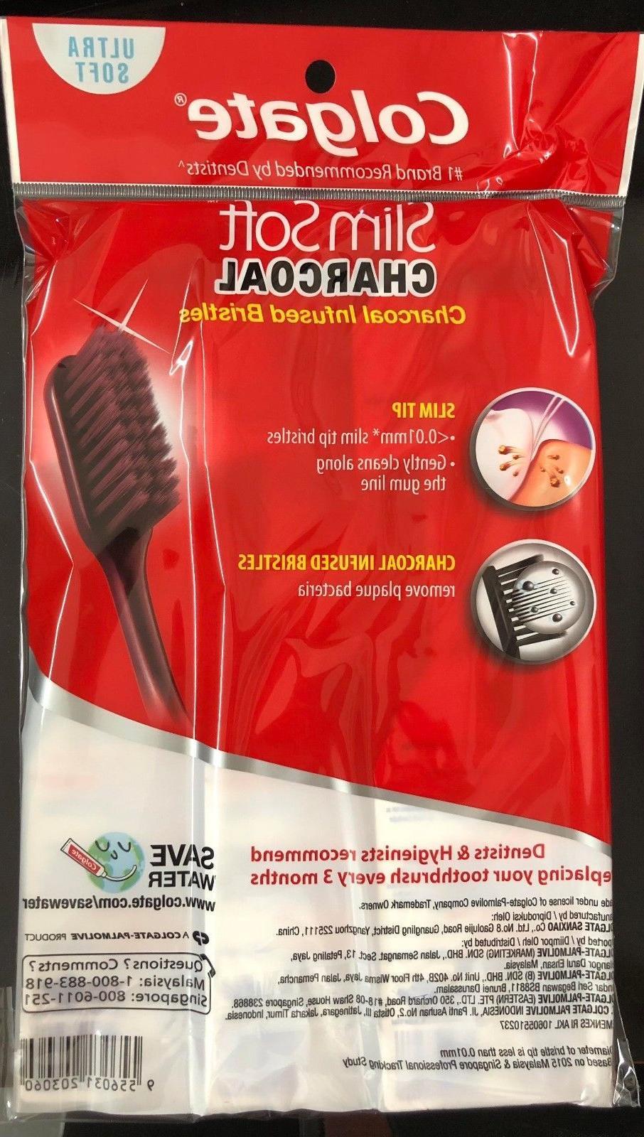 Colgate Slim Soft Toothbrush Ultra 2 1