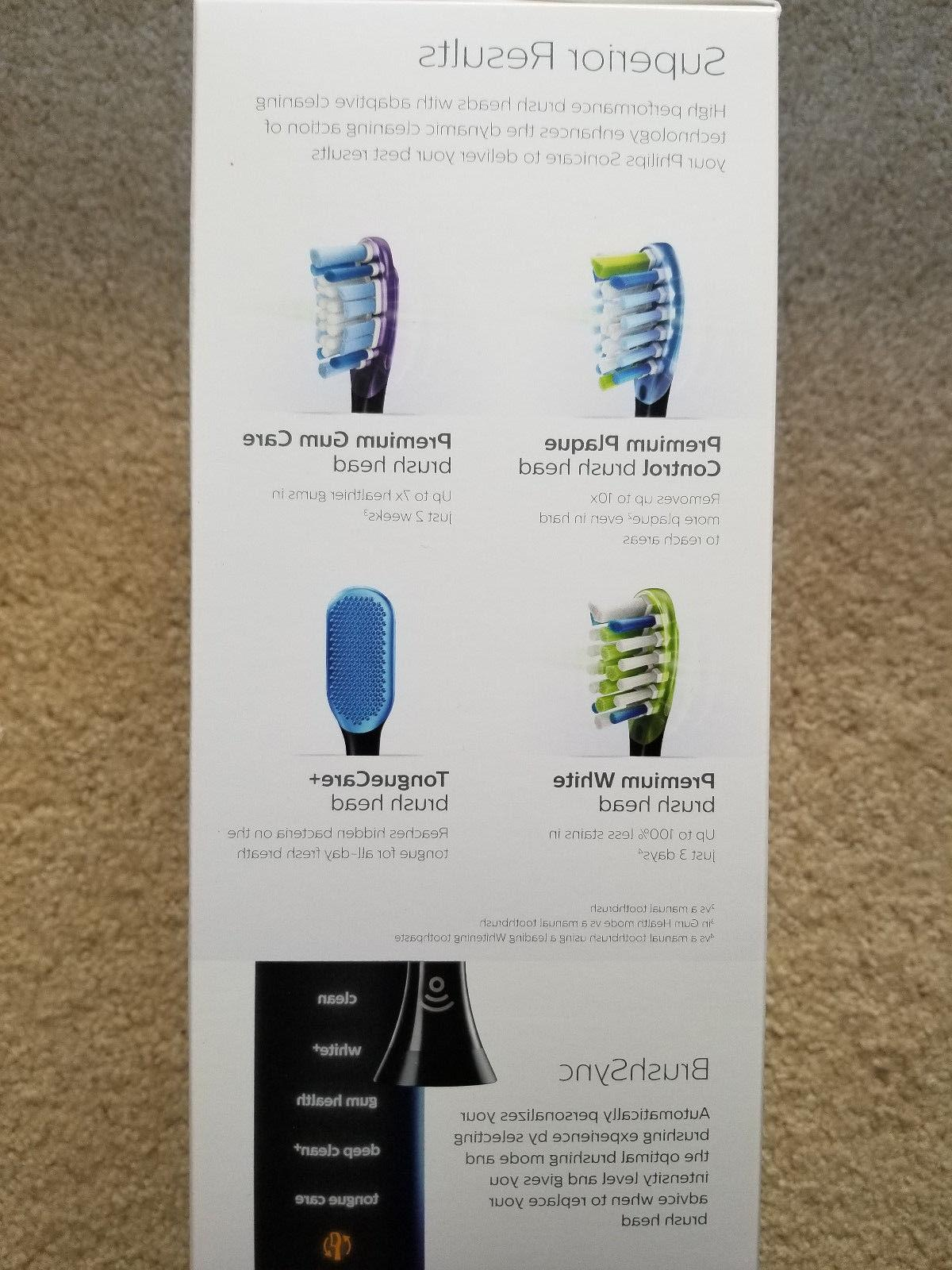 PHILIPS SMART BLACK TOOTHBRUSH 9500 SEALED!