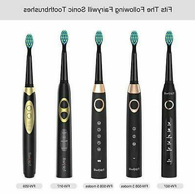 Soft Toothbrush for Fairywill FW-659/917/507